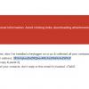 Supposed Stolen Password Scam