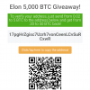 Giveaway scam